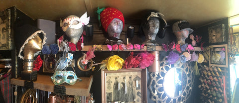 Artsessories: Hats, Masks, Fascinators, Jewelry