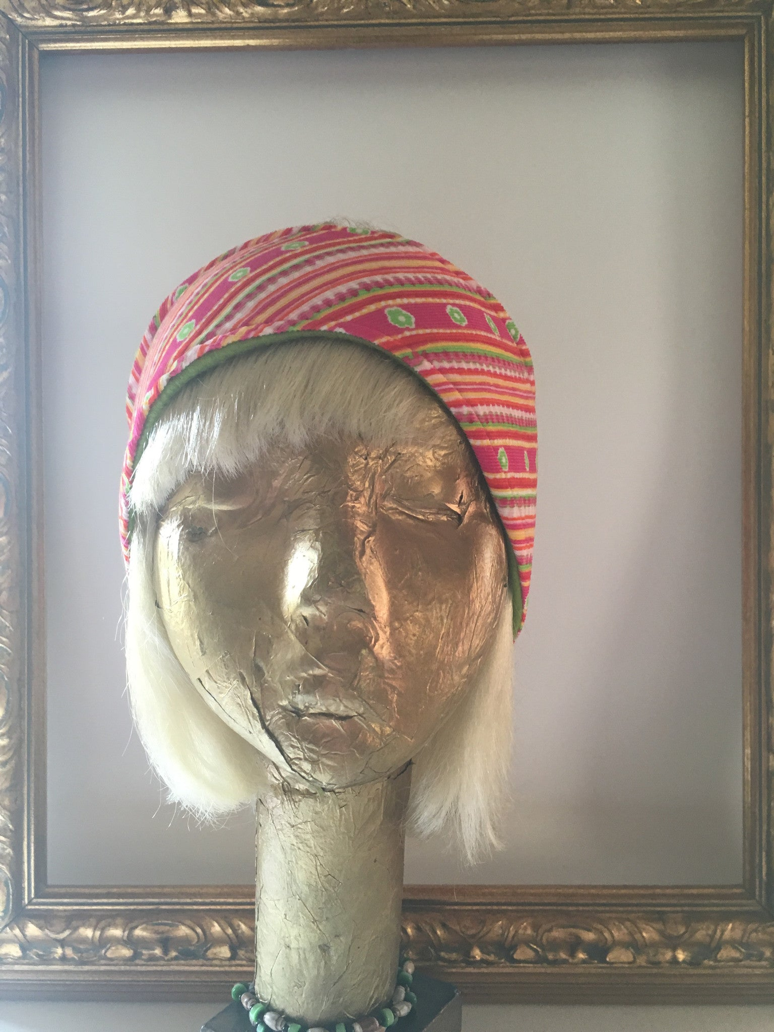 Candy Striped Corduroy & Fleece Headband