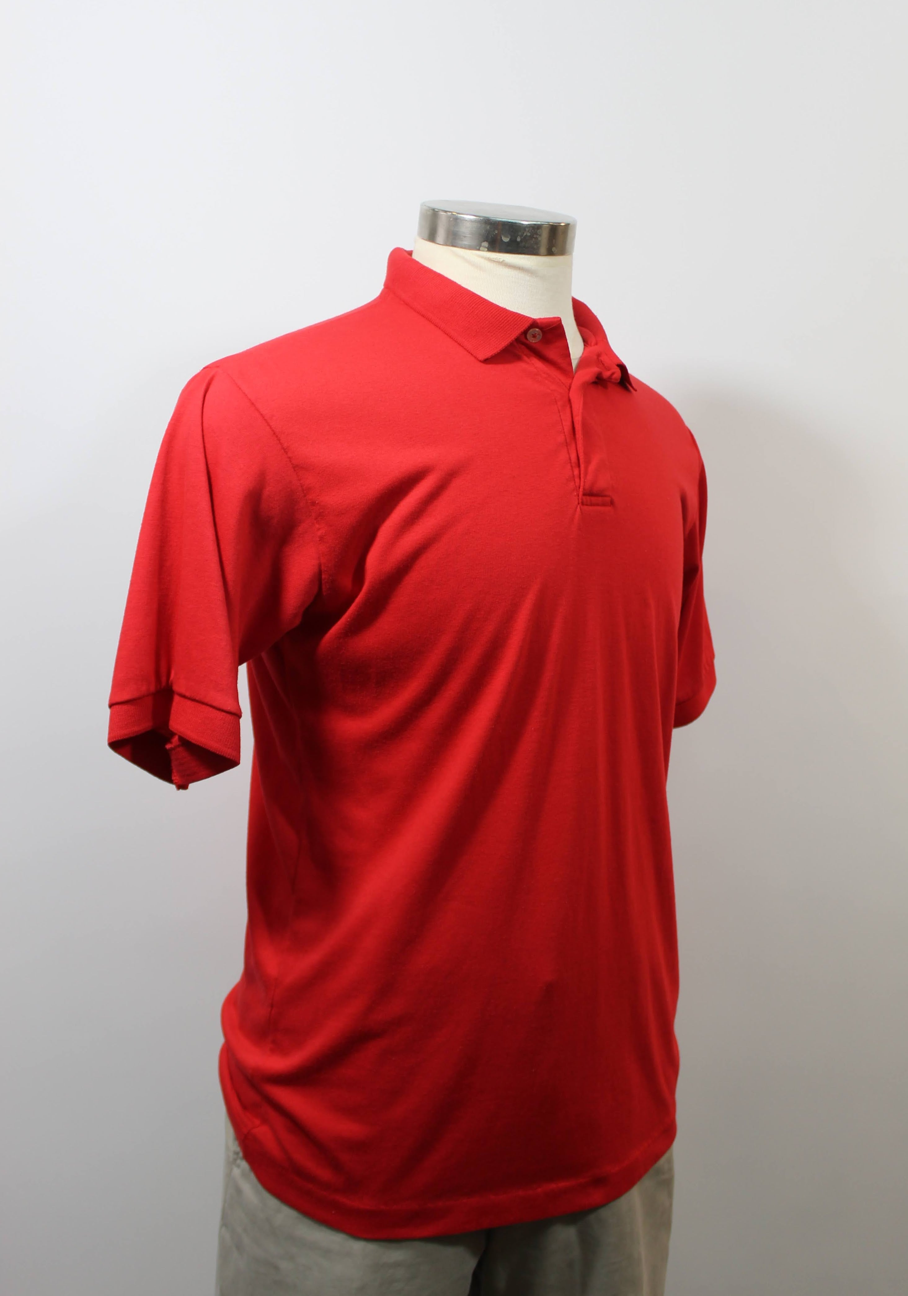 Classic Red  Polo Gnome Shirt