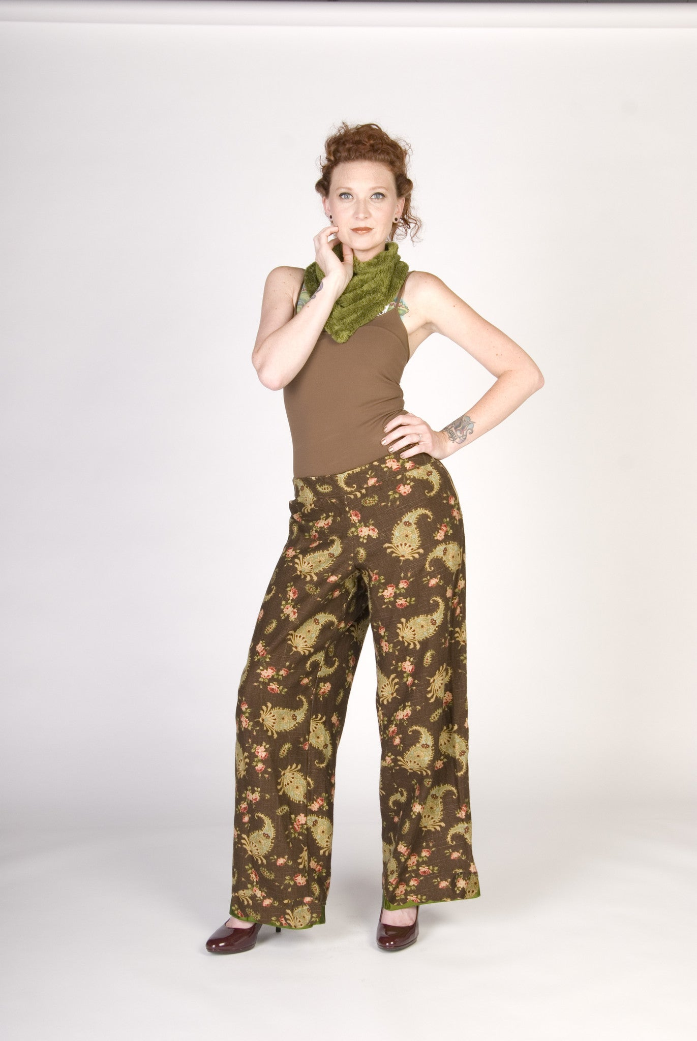 Andi McDowell Pants Made to Order