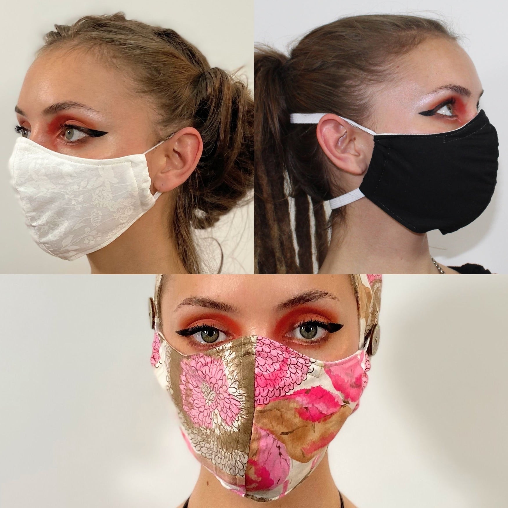 Three pack of face masks