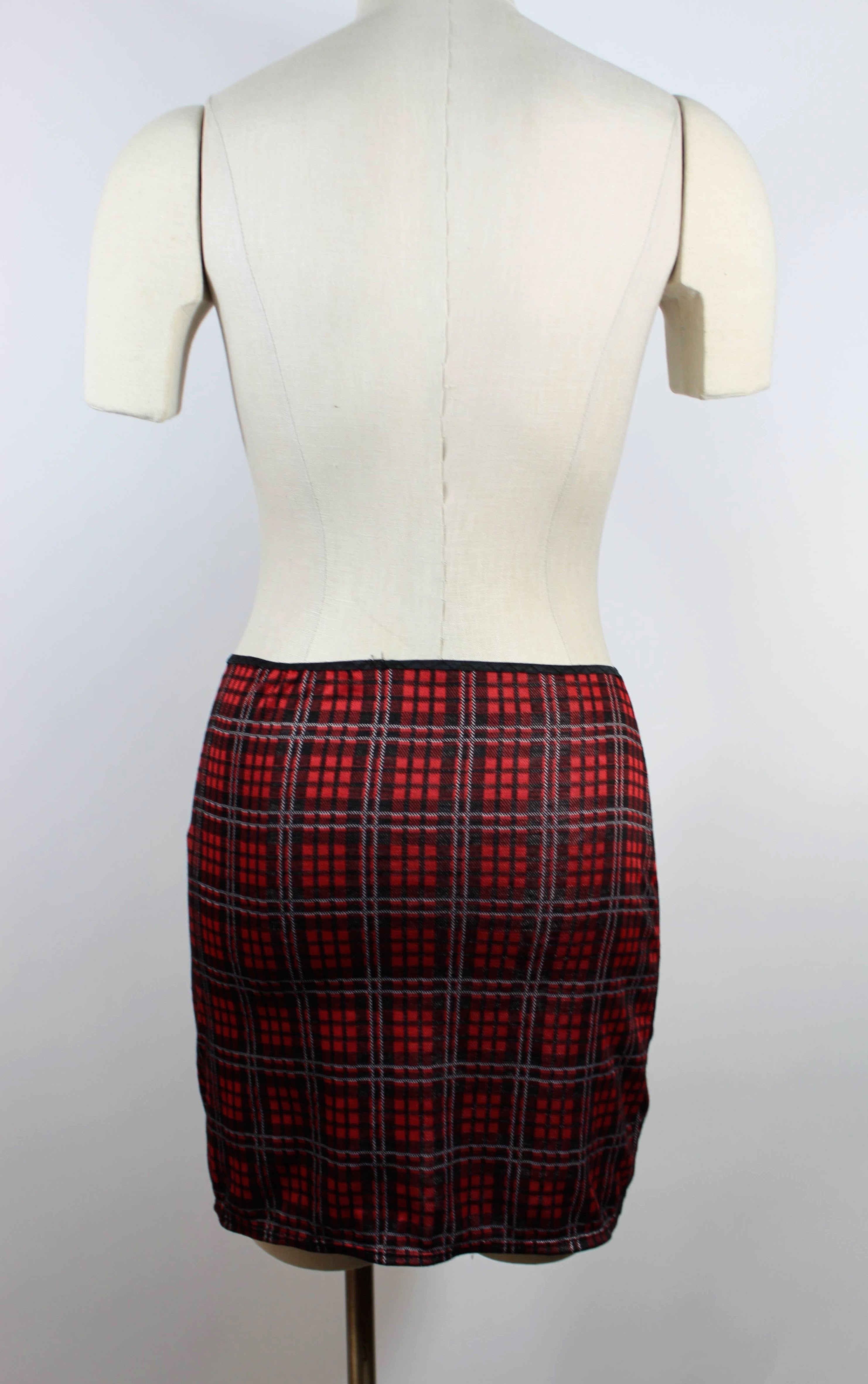 Plaid Booty Skirts