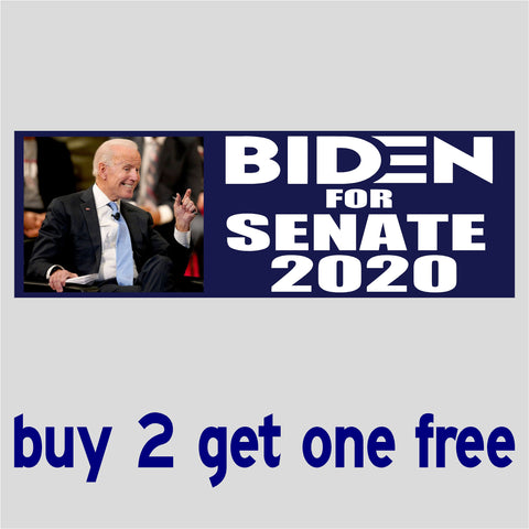 Biden For Senate 2020 - Anti Biden Sleepy Joe - Bumper Sticker