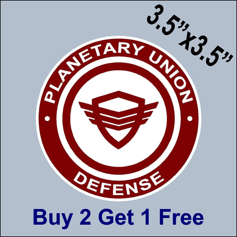 The Orville Planetary Union - Defense Patch Sticker - Ed Mercer - Seth MacFarlane - GoGoStickers.com
