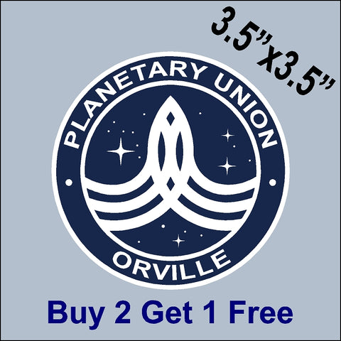 The Orville Planetary Union - Orville - Indoor/Outdoor Sticker - GoGoStickers.com