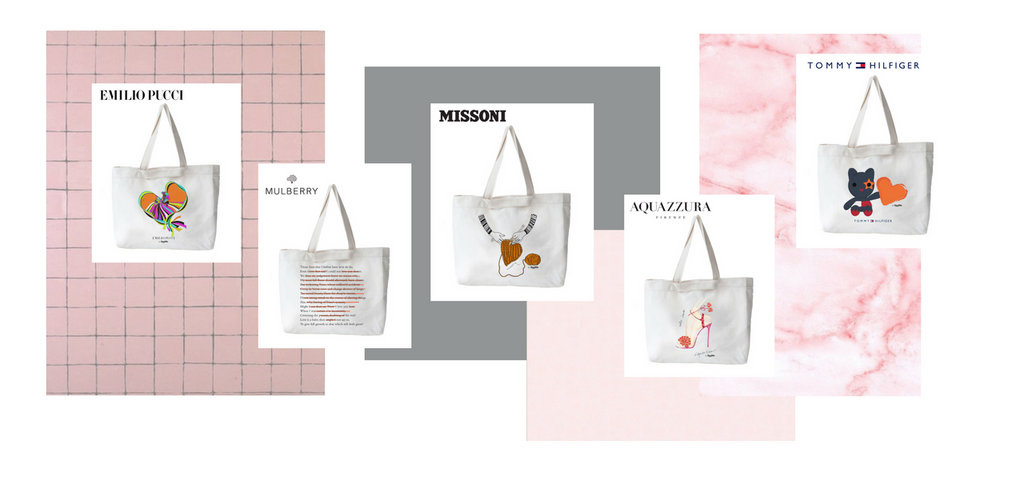 SeeMe x UNTF to end violence against women tote bags