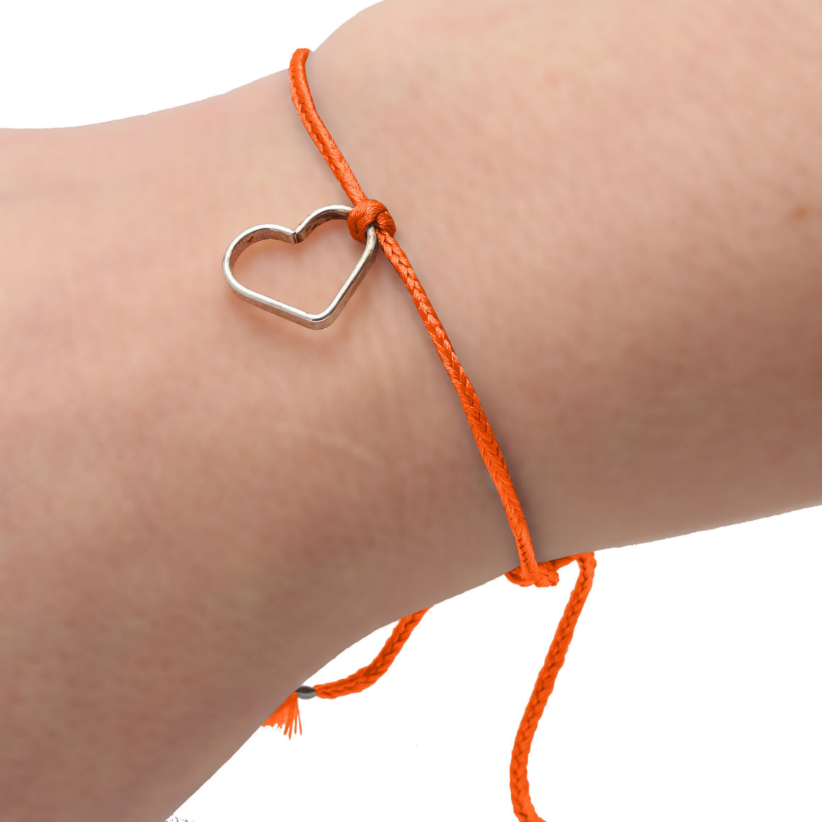 Orange Silk Bracelet - SeeMe - Jewelry and Accessories  - 2