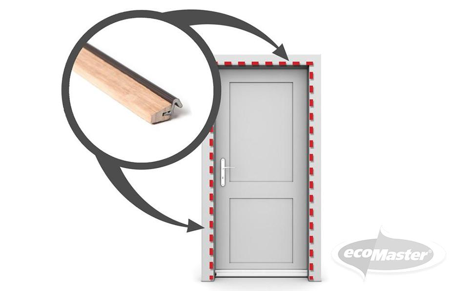 French Door Draught Proofing Kit