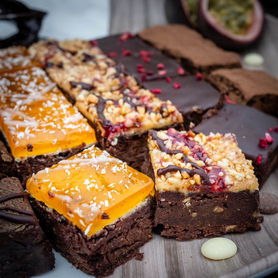Vegan No Gluten Brownies Box