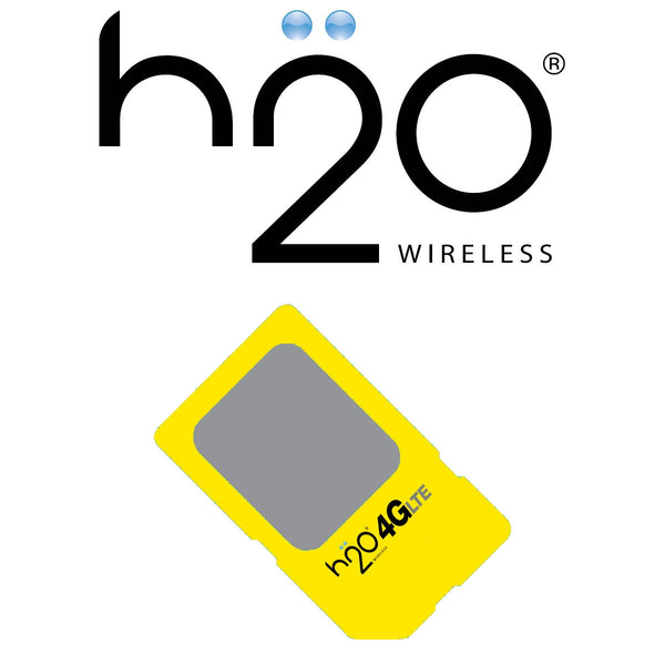 H2O Wireless Sim Card - MA PR SALES