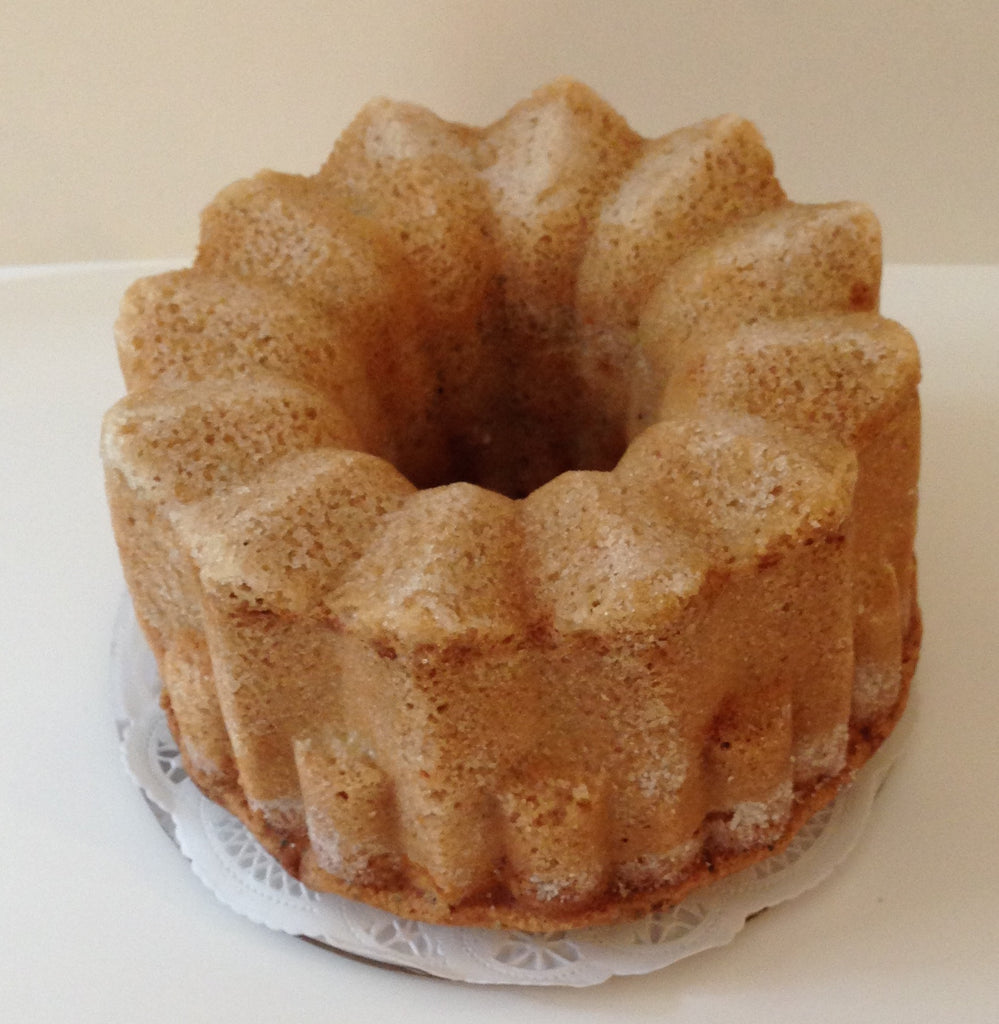 Cream Cheese Poppyseed Pound Cake