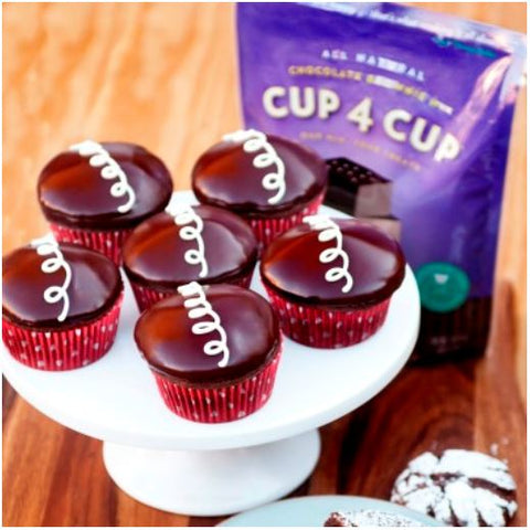 Gluten Free Cup4Cup Hostess Cupcake Recipe