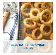 Gluten Free Beer Battered Onion Rings