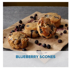 Gluten Free Blueberry Scones