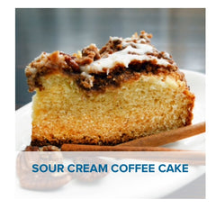 Gluten Free Sour Cream Coffee Cake Recipe