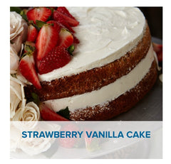 Gluten Free Strawberry Vanilla Cake