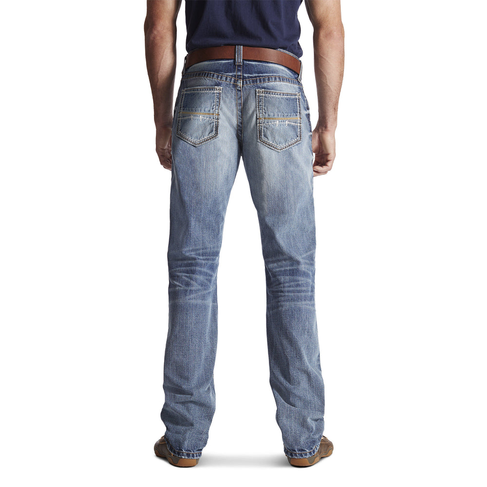 Ariat Men's M4 Coltrane Durango Medium Wash Relaxed Fit Bootcut Jeans 10017511 - Painted Cowgirl Western Store
