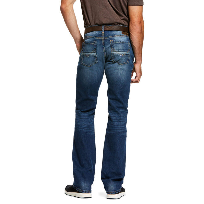 Ariat Men's M7 Stretch Nassau Stackable Straight Leg Jean 10032321 - Painted Cowgirl Western Store