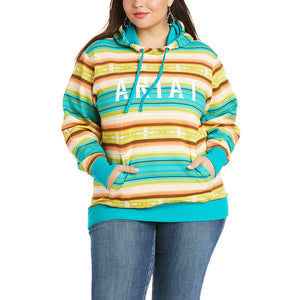 Load image into Gallery viewer, Ariat Women's R.E.A.L Baja Multicolored Hoodie 10034874