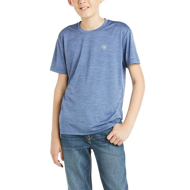 Ariat Boy's Blue Charger Graphic 1 Tee 10035180