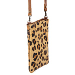 American Darling Women's Cheetah Hide Crossbody Bag ADBGS153CHE
