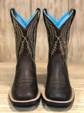 Ariat Youth Chute Boss Distressed Brown Square Toe Western Boots 10023080