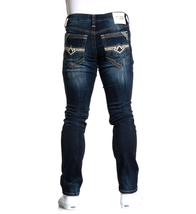 American Fighter Men's Defender Cameron Porter Straight Leg Jeans 331SK275