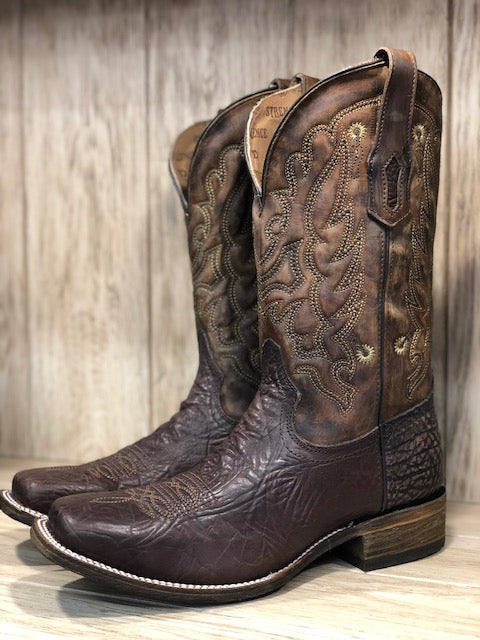Corral Men's Tyson Durfey Performace Brown Square Toe Western Boots A3548
