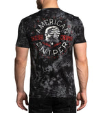 Affliction Men's Chis Kyle Long Range Kryptek Short Sleeve Tee A22583 - Painted Cowgirl Western Store