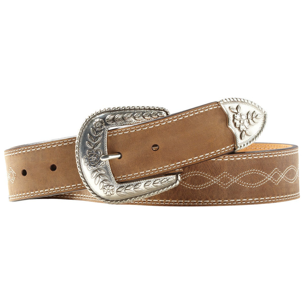 Ariat Women's Basic Brown Leather Belt A10004144