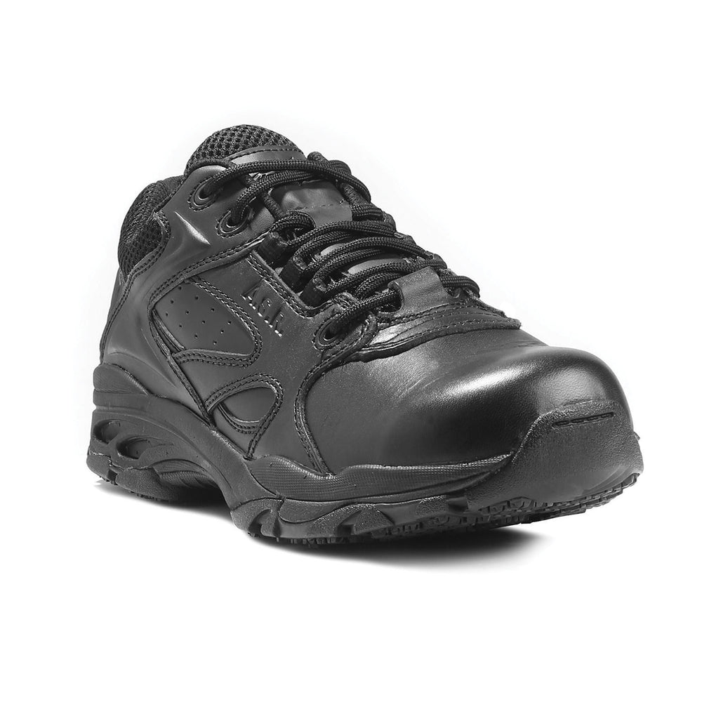 Thorogood Men's Black Athletic Oxford Slip Resistant Work Shoes 834-6522