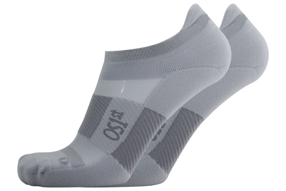 Os1st Thin Air Performance Grey No Show Socks 1 Pair 36543G
