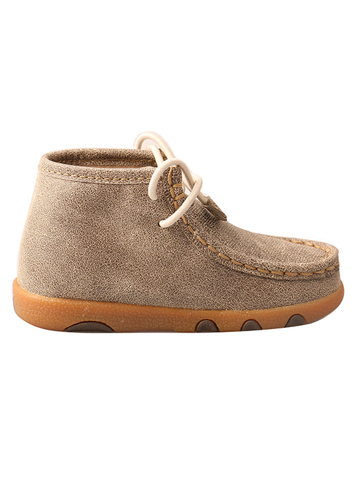 Twisted X Infant/ Toddler Dusty Tan Driving Mocs ICA0005 - Painted Cowgirl Western Store
