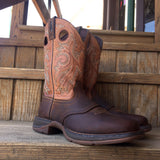 Durango Rebel Saddle Up Brown Square Toe Western Boot DB4442
