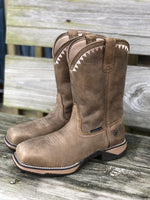 Ariat Women's Anthem Deco Brown Bomber Composite Toe Boots 10029498