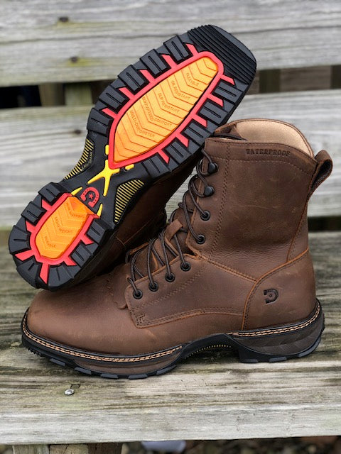"Load image into Gallery viewer, Durango Men's Waterproof Maverick XP 8"" Lacer Boots DDB0238"