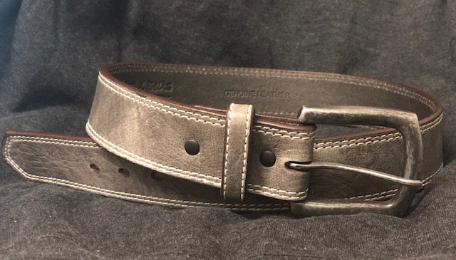 Twisted X Men's Grey Elephant Print Western Belt XWF-23