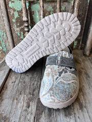 Anderson Bean Men's Brass & Black Full Quill Ostrich Square Toe Western Boots 4221M