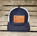 Painted Cowgirl Navy/ White Unisex Ball Cap PCBC-NVWHT