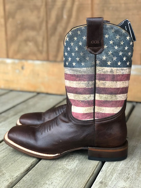 Men/'s Roper Score Special Concealed Carry Boots Handcrafted Black