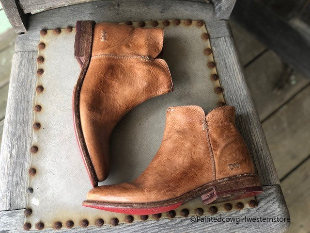 Load image into Gallery viewer, Bed Stu Women's Yurisa Tan Rustic Tremolo Ankle Boots F321147 - Painted Cowgirl Western Store