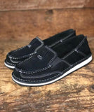 Ariat Women's Black Suede Cruiser Shoes 10027355