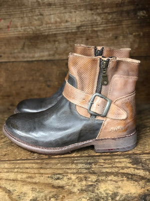 Load image into Gallery viewer, Bed Stu Women's Becca Taupe Rustic Tan Rustic Mason Short Boots F321118 - Painted Cowgirl Western Store