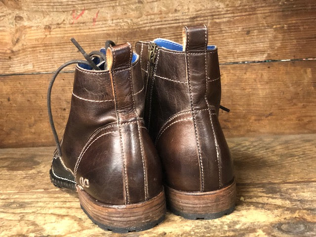 Load image into Gallery viewer, Bed Stu Men's Old Bowen Testa Di Moro/ Black Rustic Boots F479014