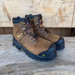 "Thorogood Infinity FD Series 6"" Brown Safety Toe Waterproof Work Boots 804-3416"