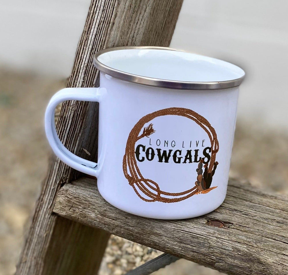 Whole Herd Long Live Cowgals Campfire Mug WHLLCM