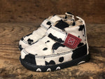 Twisted X Infant Hair On Cow Print Chukka Driving Mocs ICA0013