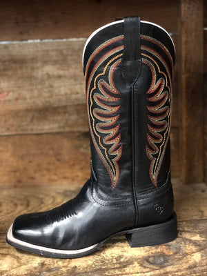 Load image into Gallery viewer, Ariat Women's Circuit Shiloh Black Square Toe Western Boots 10027361 - Painted Cowgirl Western Store