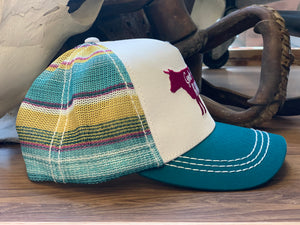 Twisted X Women's Black & White Western Print Boat Shoe Driving Moc WDM0112 - Painted Cowgirl Western Store