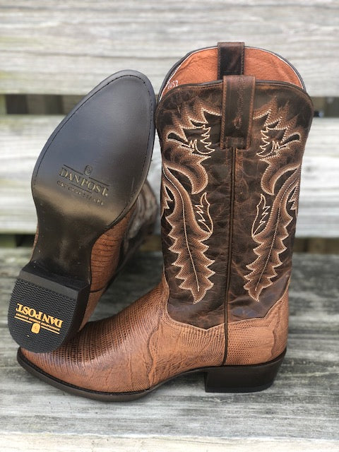 Dan Post Men's Winston Bay Apache Teju Lizzard Round Toe Western Boots DP3054 - Painted Cowgirl Western Store